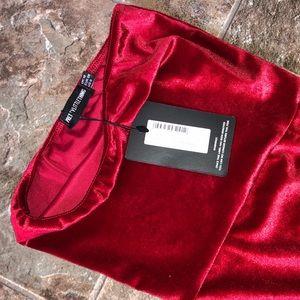 Prettylittlething bandeau dress